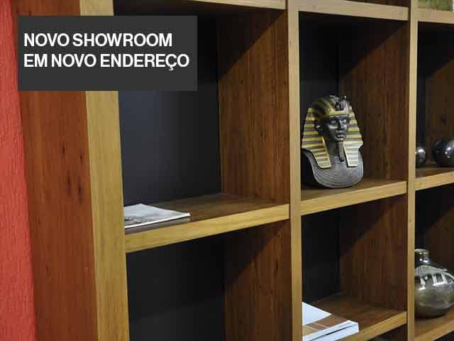novo showroom em novo endereço