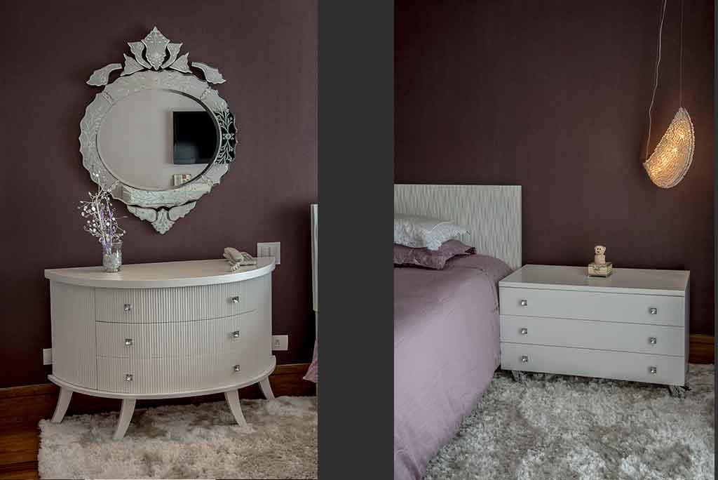 penteadeira vintage contemporanea sob medida espelho vintage